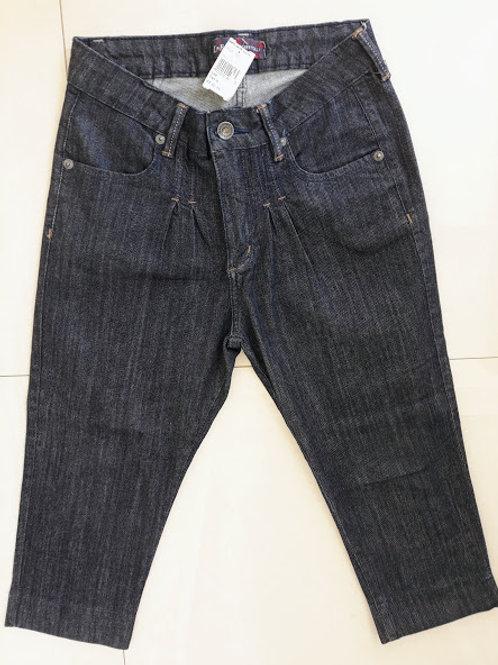 Calça Jeans com preguinhas