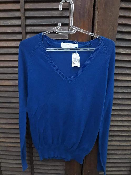 Blusa azul Zara