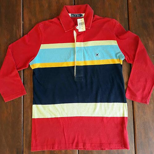 Camiseta polo manga longa da Polo Play