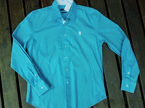 Camisa azul Polo Wear