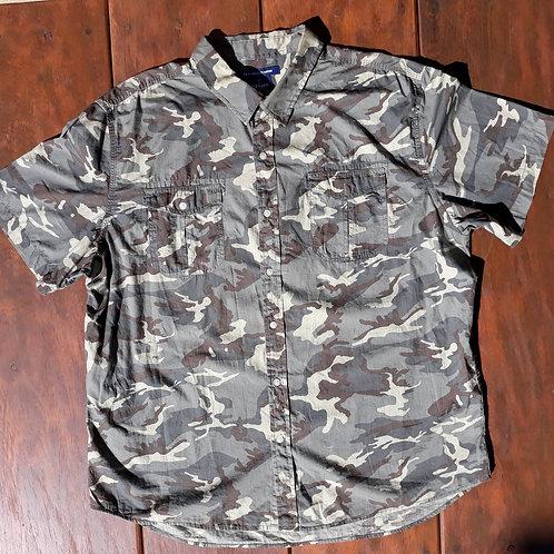 Camisa militar Old Navy