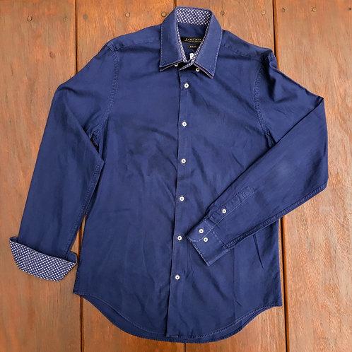 Camisa marinho Zara