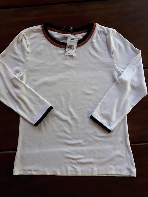 Blusa off white Zara