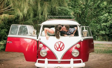 VW Bus Oahu Hawaii