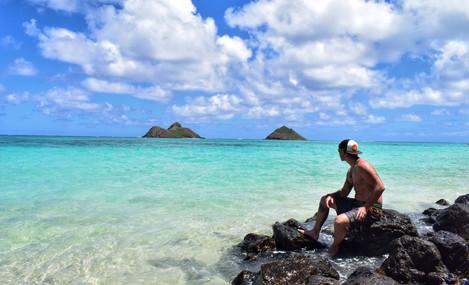 Na Mokulua Islands Oahu Hawaii