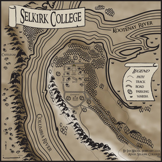 Selkirk College Campus Map