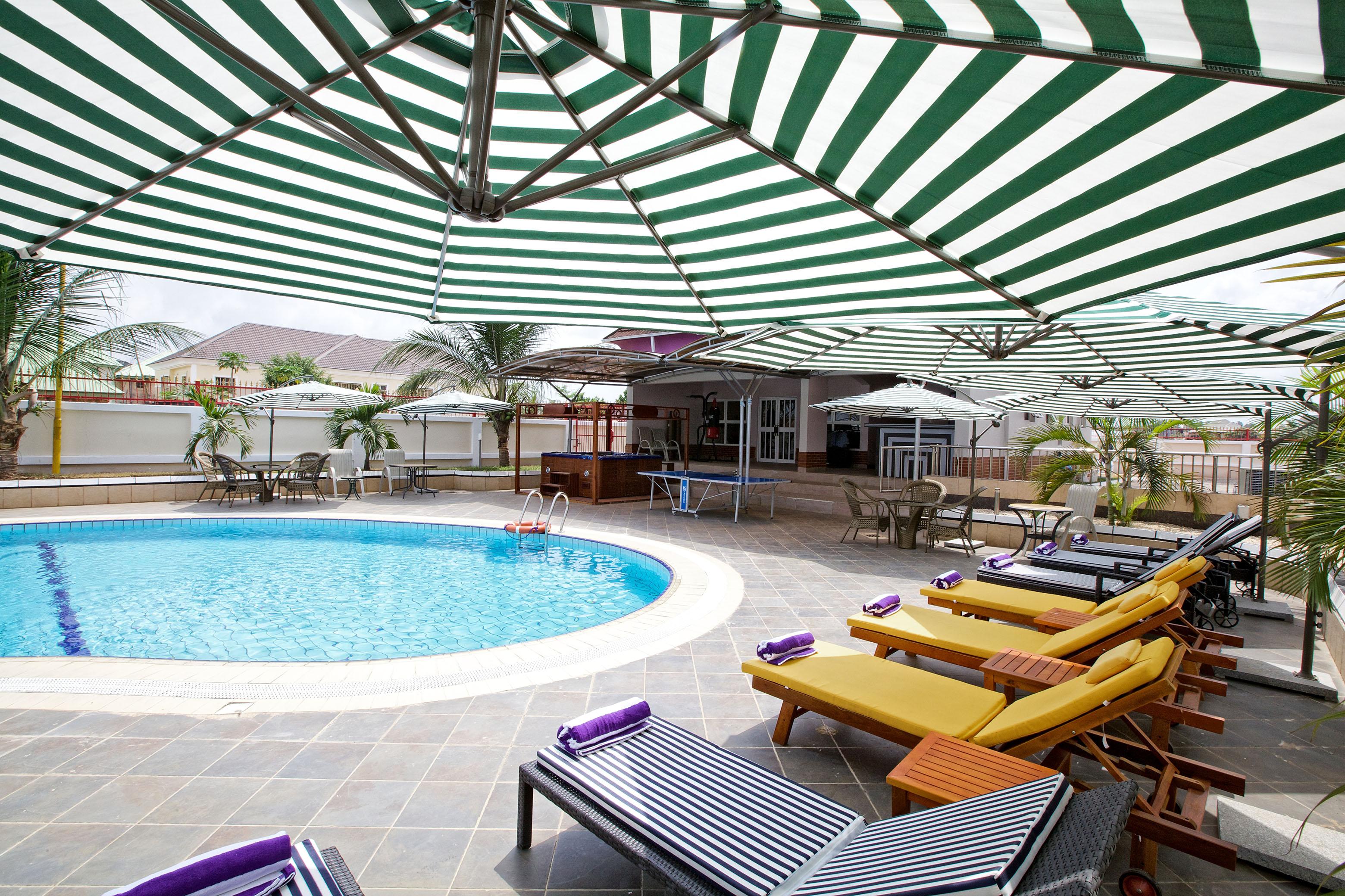 Oxygen Hotel Poolside, Owerri