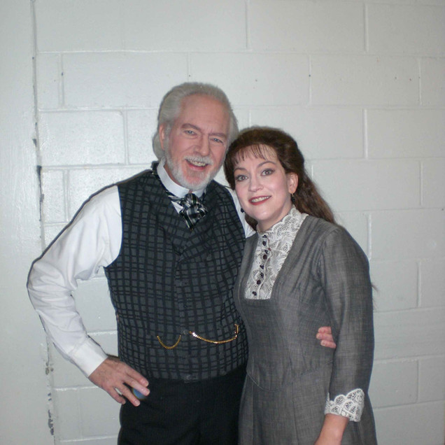 Getting to sing with Richard Stillwell as The Doctor was one of the reasons I jumped at the chance to sing Erika!