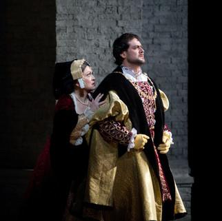 With Ildar Abdrazakov as Henry VIII | The Metropolitan Opera