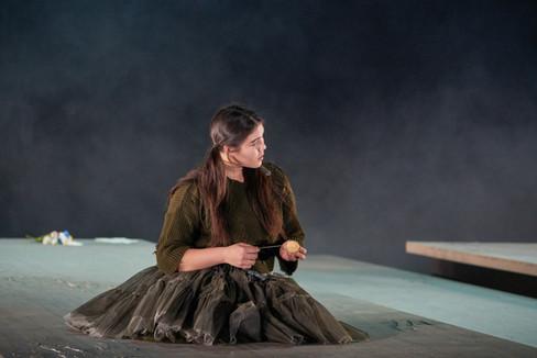 """As Olga in """"Eugene Onegin"""""""