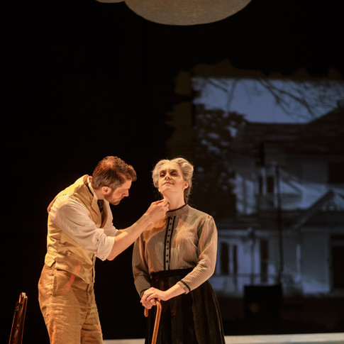 """As Mrs. Soames in """"Our Town"""" (Rorem)"""