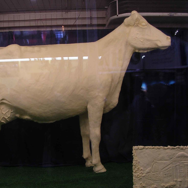 The Iowa Butter Cow...of course.
