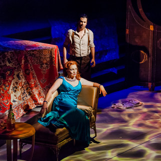 With Derek Taylor as Samson | Photo: Ben Schill