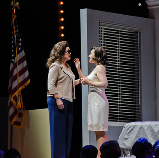 With Daniela Mack as Jackie Kennedy and Talise Travigne as Clara | Fort Worth Opera