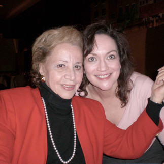 "What a privilege it was to sing Erika in ""Vanessa"" at New York City Opera, with the original Erika, Rosalind Elias, as the Old Baroness."