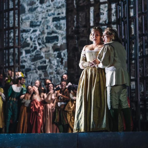 """As the Contessa di Ceprano in """"Rigoletto"""""""