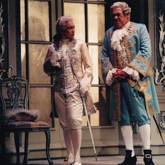 As Octavian (Der Rosenkavalier) with Günter Missenhardt as Baron Ochs | r Rosenkavalier) | Théâtre du Capitôle Toulouse