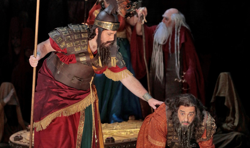 "As Abdallo in ""Nabucco"""
