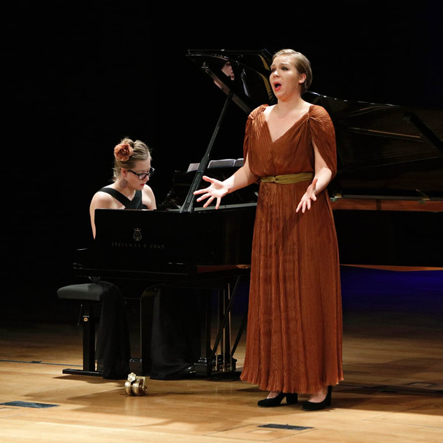 Finals of the Helsinki Lied Comptetition 2019