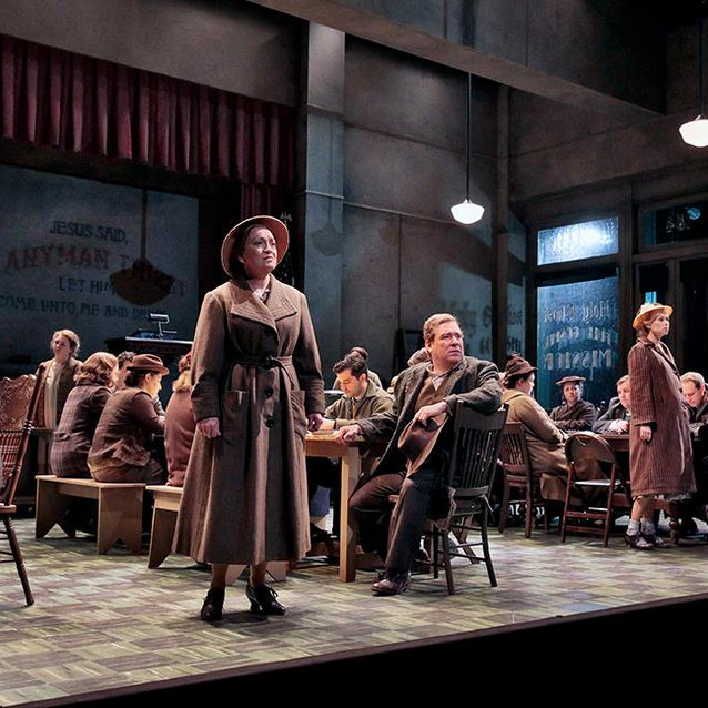 With Levi Hernandez as Pa Joad and Deanna Breiwick as Rosasharn | Opera Theatre of St. Louis