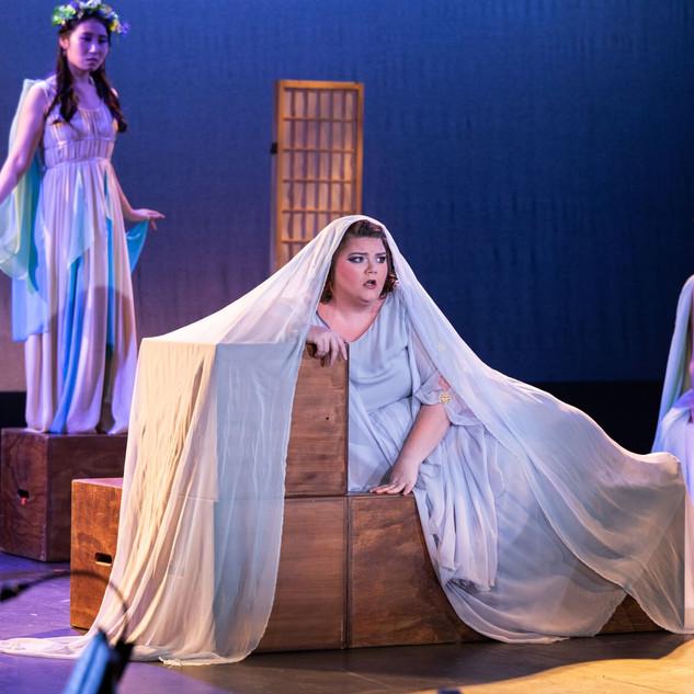 "As Ariadne in ""Ariadne auf Naxos"""