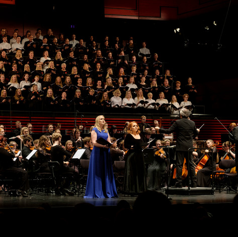 As the Soprano Soloist