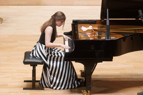At the Sendai Piano Competition
