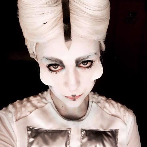 """""""Frau Luna"""" Makeup artist: Jule Jacobsen"""