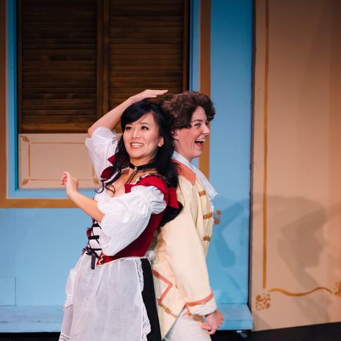 """As Cherubino in """"Le nozze di Figaro"""""""
