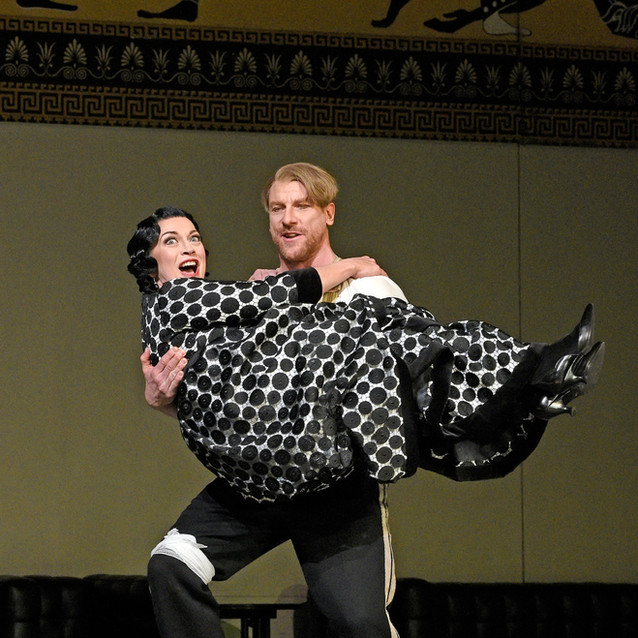 With Günther Groissböck as Baron Ochs | Metropolitan Opera | Photo: Karen Almond