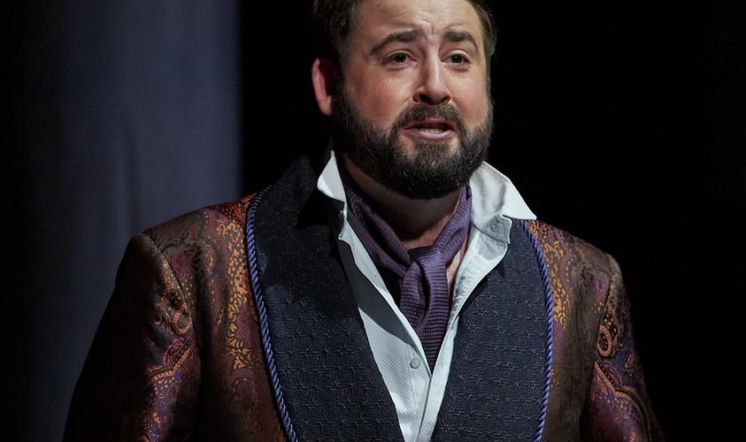 """As the Duke of Mantua in """"Rigoletto"""""""
