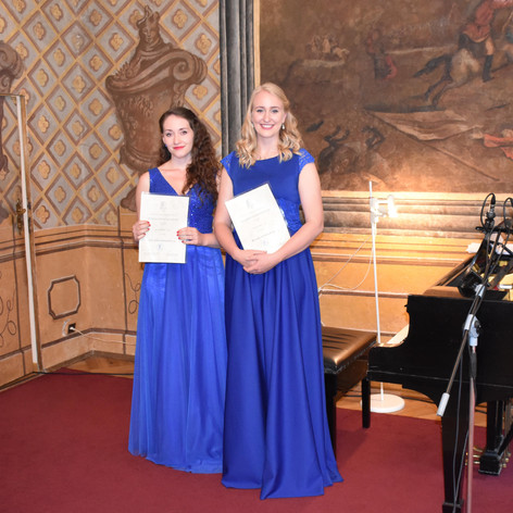 1st Place at the 2018 Dušek Competition