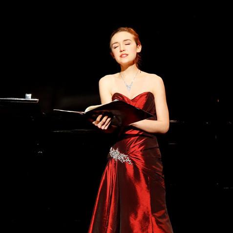 Recital at Folkwang Universität der Künste