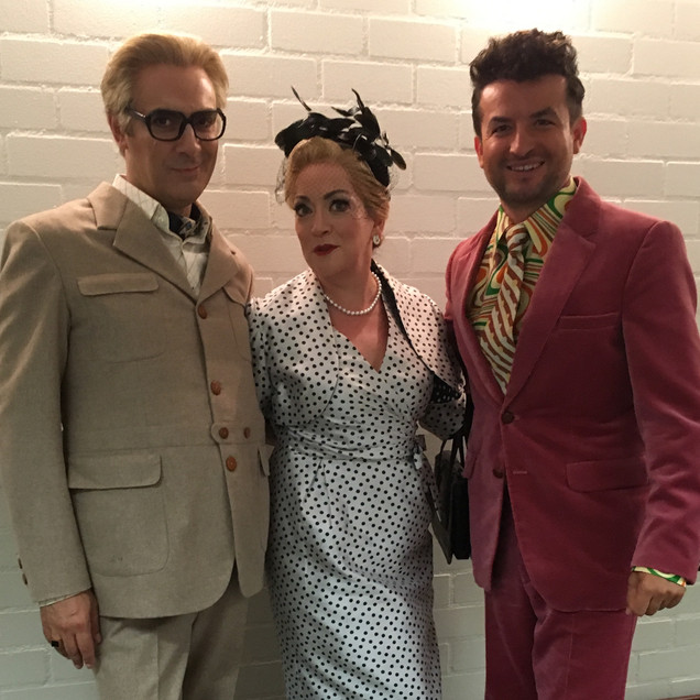 As Marcellina at the Dutch Nat'l Opera, with Umberto Chiummo as Bartolo and Kristian Adam as Basilio