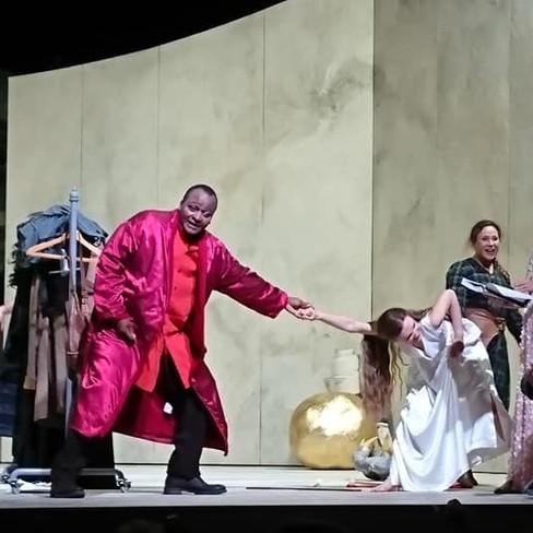 """Als Angelica in """"Ritter Roland"""" (Joseph Haydn)"""