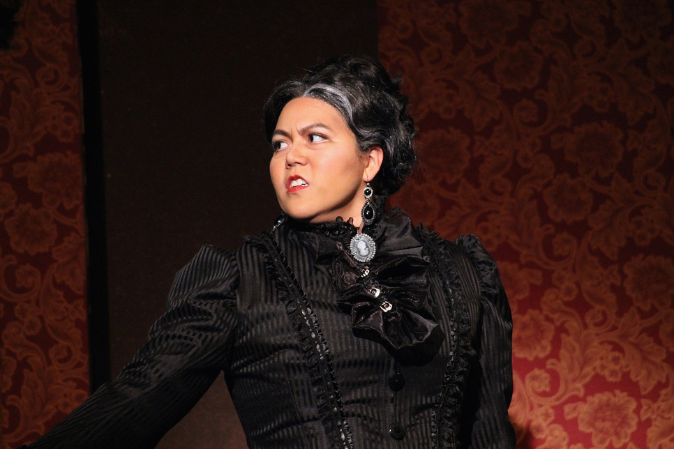 """As Augusta Tabor in """"The Ballad of Baby Doe"""""""