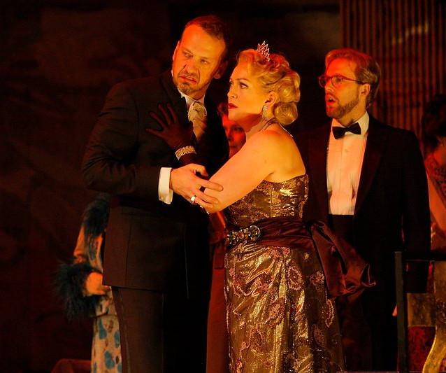 With Wayne Tigges as Claudius | Minnesota Opera | Photo: Michal Daniel