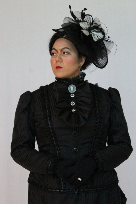 "As Augusta Tabor in ""The Ballad of Baby Doe"""