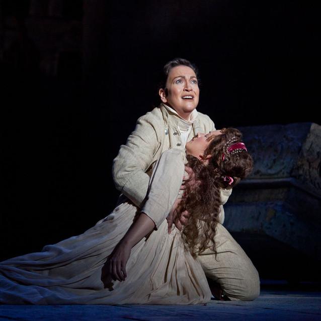As Orfeo (Orfeo ed Euridice) with Christine Brandes as Euridice | Arizona Opera | Photo: Jeff Reeder