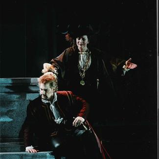 As Maffio Orsini, with Gregory Kunde as Gennaro (Lucrezia Borgia) | Opéra de Monte Carlo