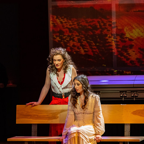"""As Carmen in """"Rest in Pieces: A Modern Pastiche"""" (Blythe)"""