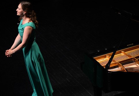 At the Salt Lake City Piano Competition