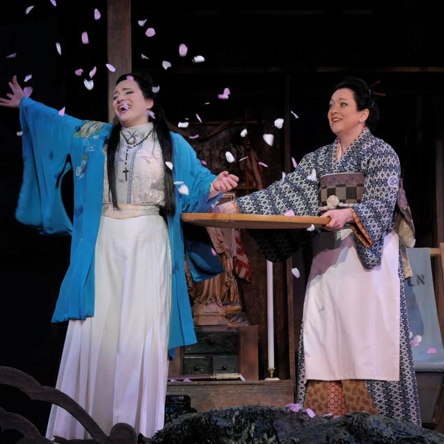 With Patricia Racette as Cio-Cio San | Lyric Opera of Chicago | Photo: Dan Rest