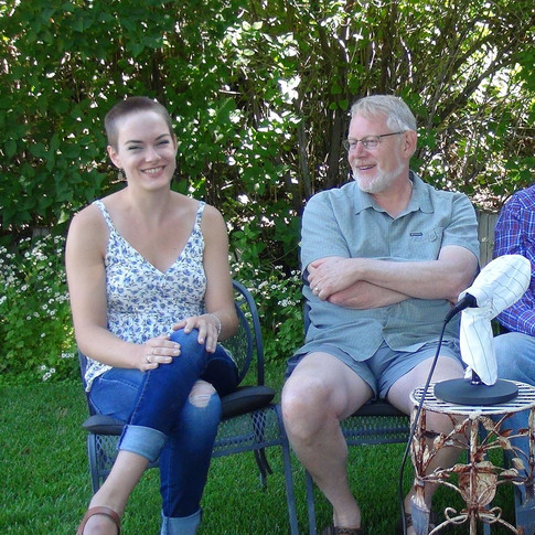Interviewing Peter, Jolly, and Lee Miller, July 2017