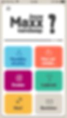 Maxx alcohol app_startscherm