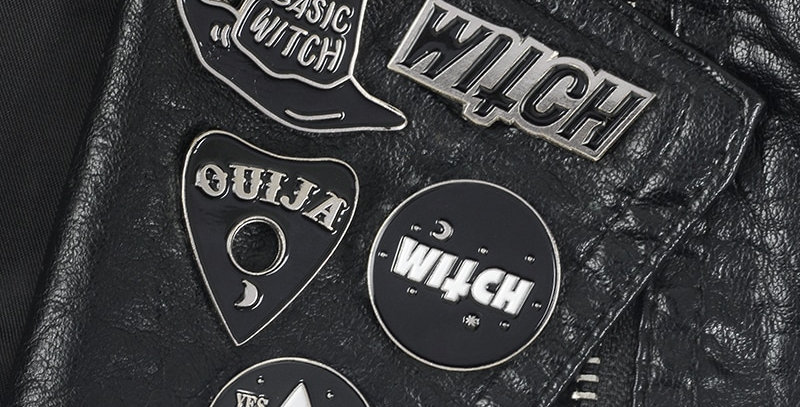 Geek Pins | Basic Witch Collection | Brooches Lapel Pins