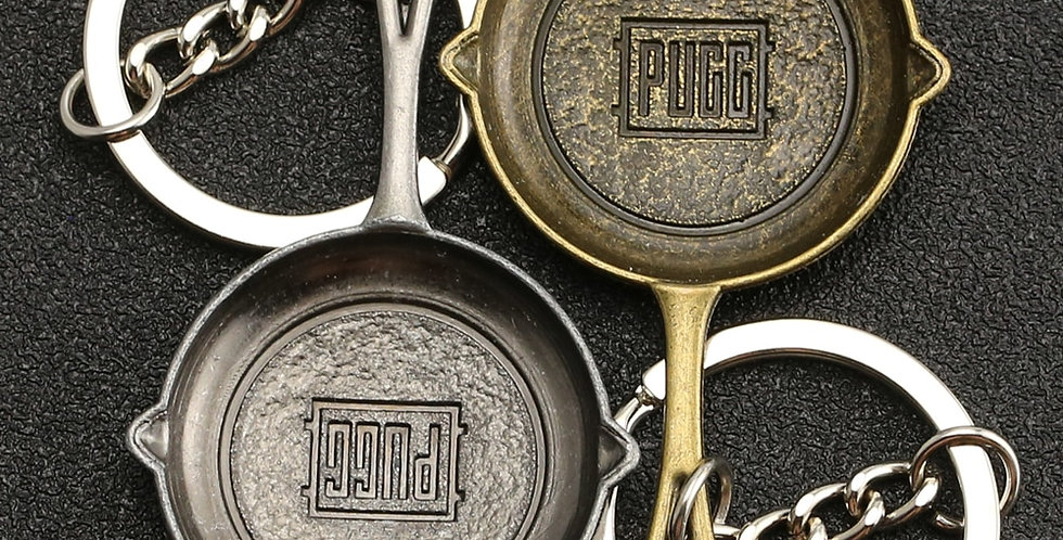 PUBG Keychain | Guns or Frying Saucepan