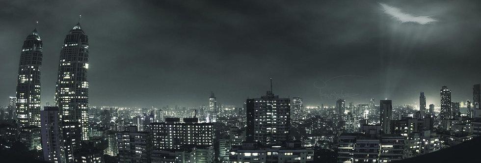 "BATMAN - GOTHAM CITY PHOTO - 15""x15"" Decal Backdrop for IKEA DETOLF"