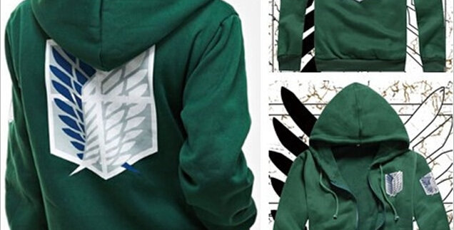 Anime Hoodie | Attack on Titan