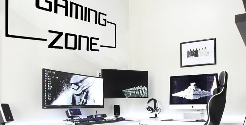 Wall Sticker Vinyl Decal | Gaming Zone